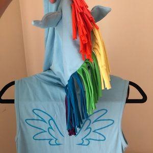 My little pony adult costume